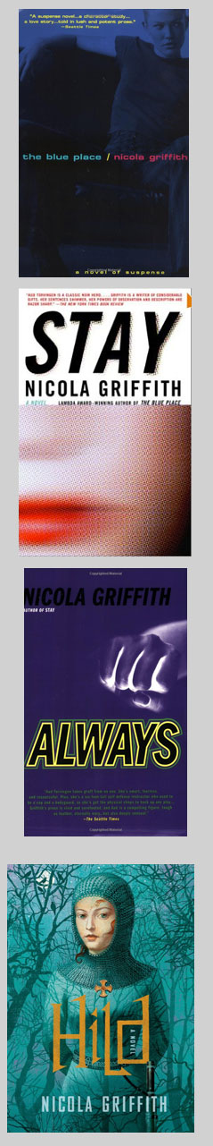 Books by Nicola Griffith